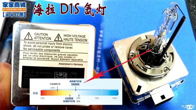 阿帕6S海拉D1S氙气灯