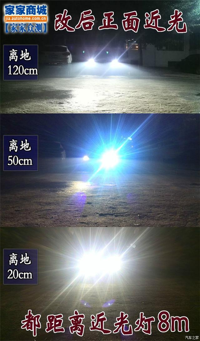 标志301改阿帕6S改后正面近光