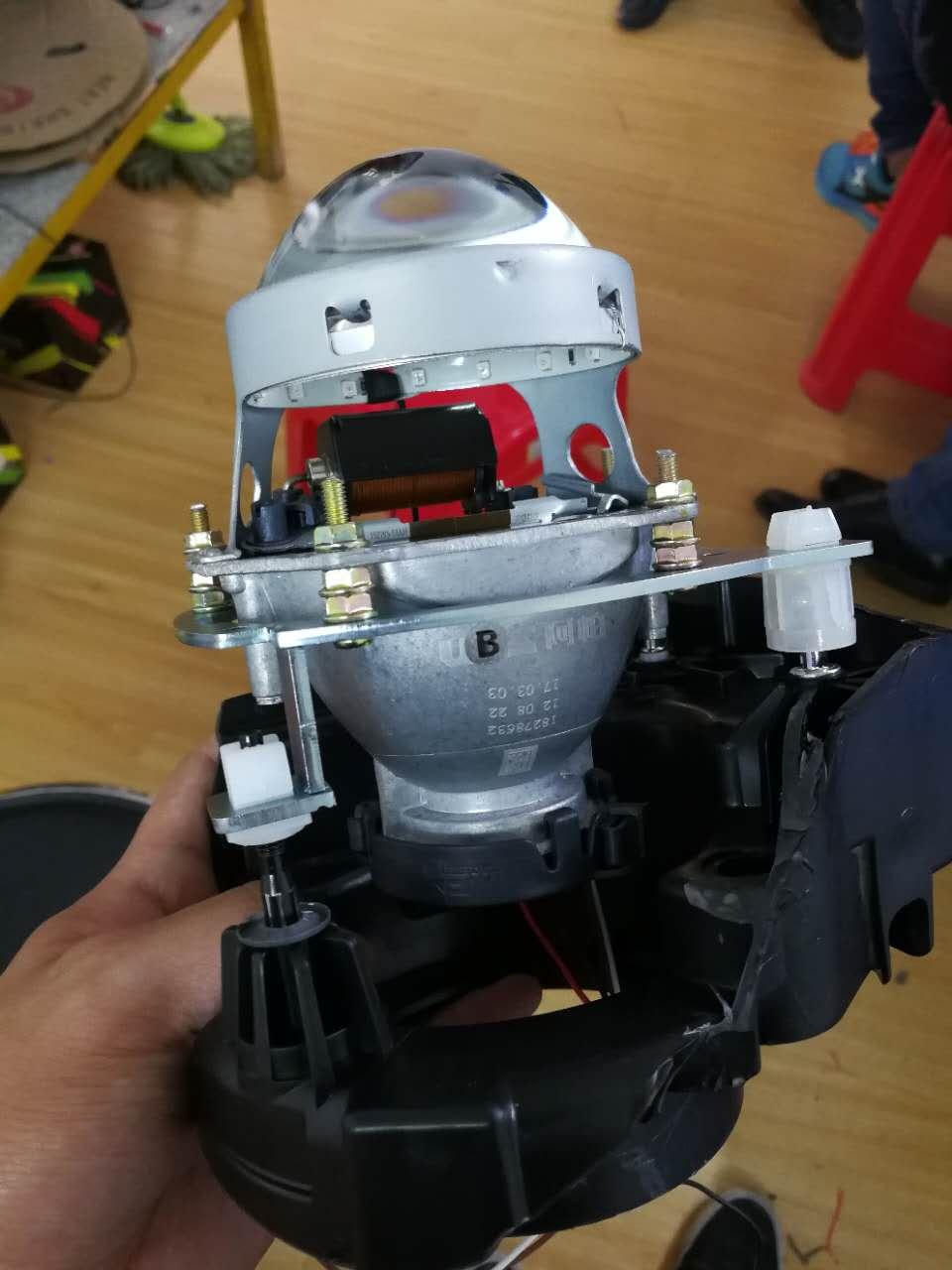 调配好的阿帕6透镜