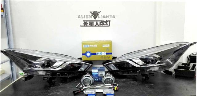 日产蓝鸟车灯改装-阿帕6套装 产品全家福