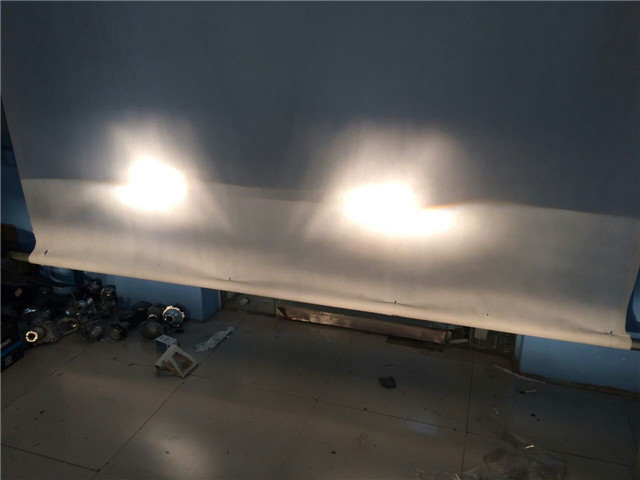 哈佛H6车灯改装阿帕5XV改后远光效果