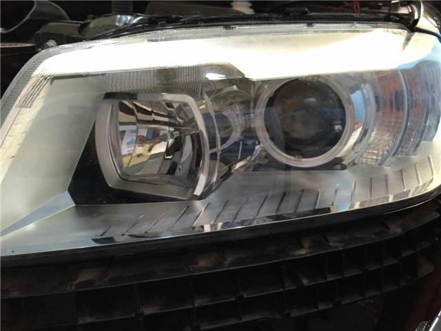 哈佛H6车灯改装阿帕5XV套装-改后大灯总成特写