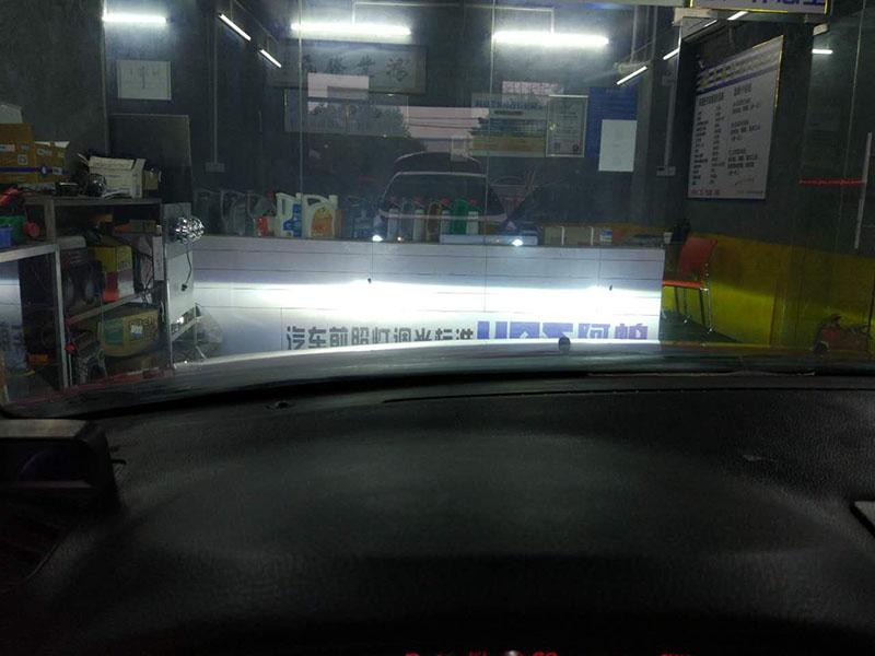 马自达6车灯改装阿帕6改后近光效果