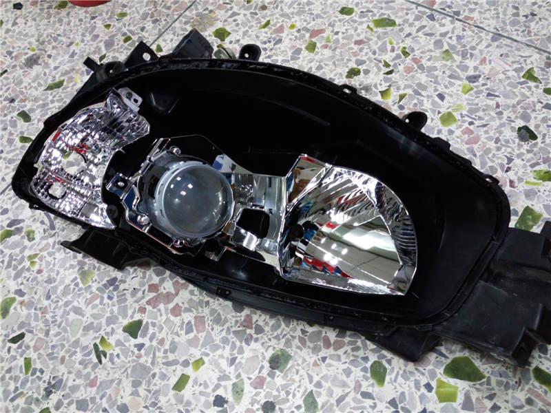 阿帕6透镜安装