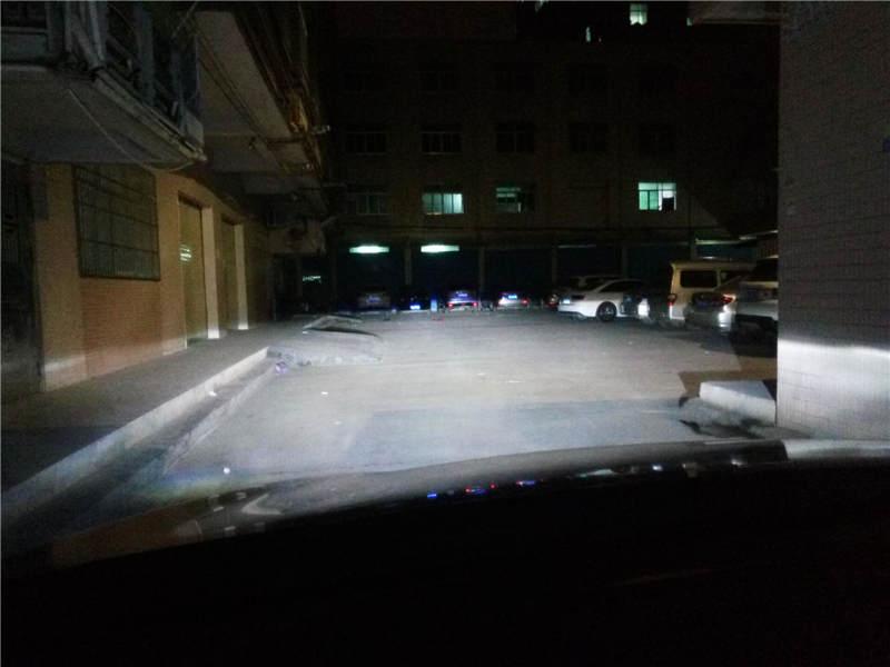 马自达CX-5车灯改装阿帕6-改后近光效果
