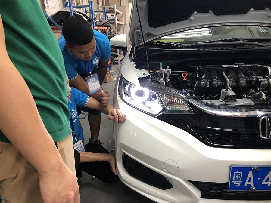 车灯改装技术培训班二十一期学院实践